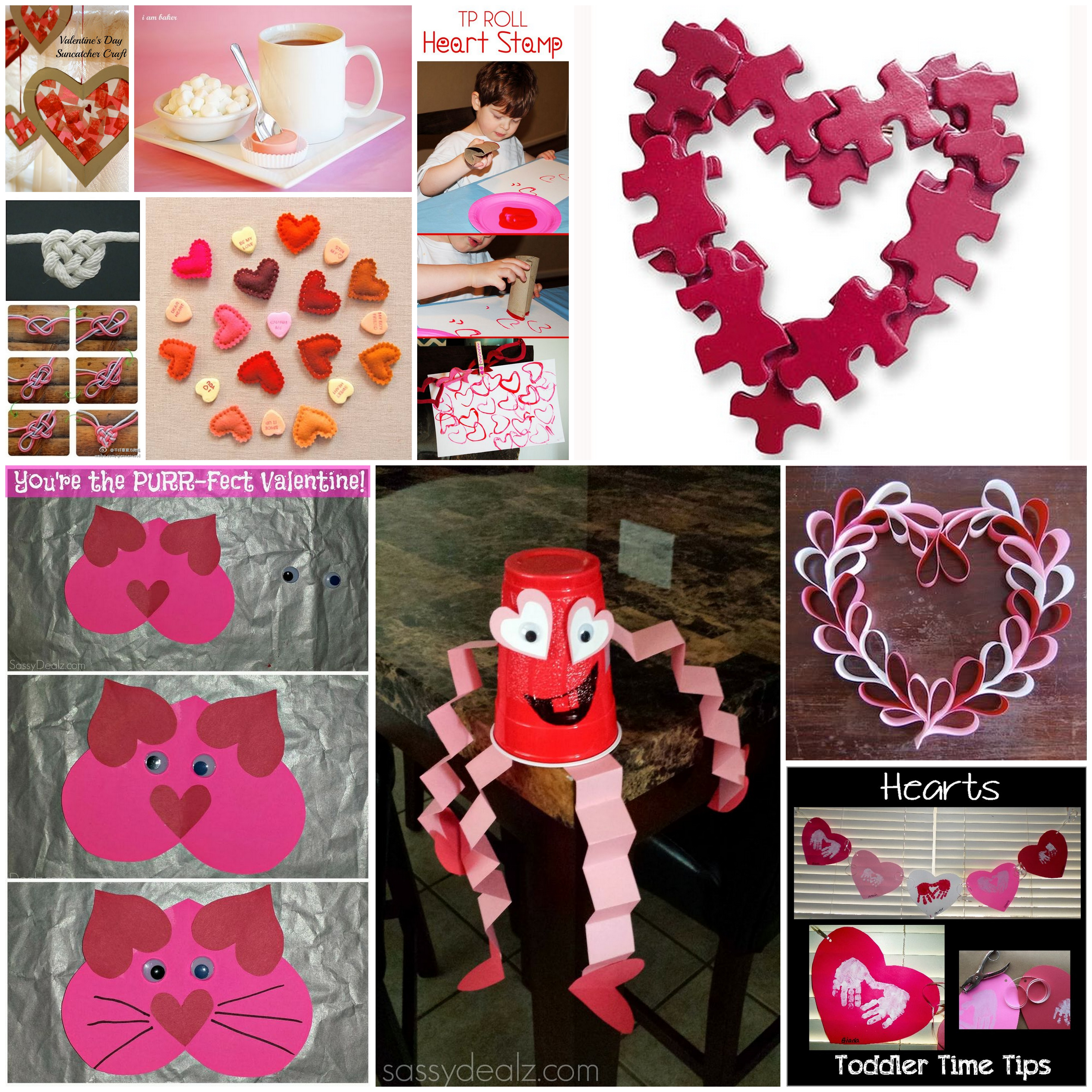 10 Simple Fun Valentine S Day Pinterest Projects For Children